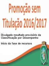 Resultado provisório da Classificação por Desempenho – Início da fase de recursos
