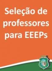 Sefor e Credes divulgam processo seletivo para professores de EEEPs
