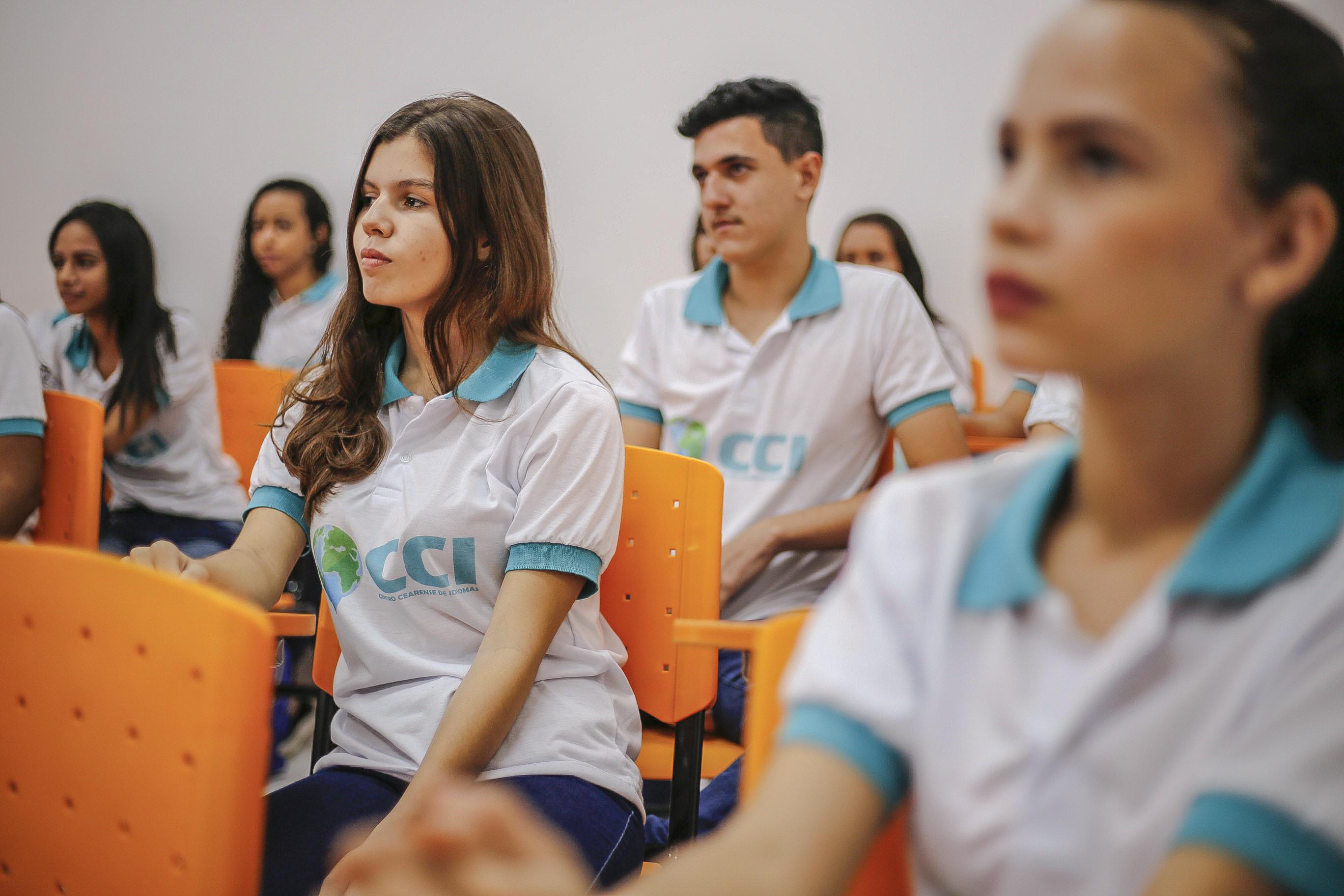 CCI de Maranguape: Alunos da rede pública ganham oportunidade de aprender gratuitamente outro idioma