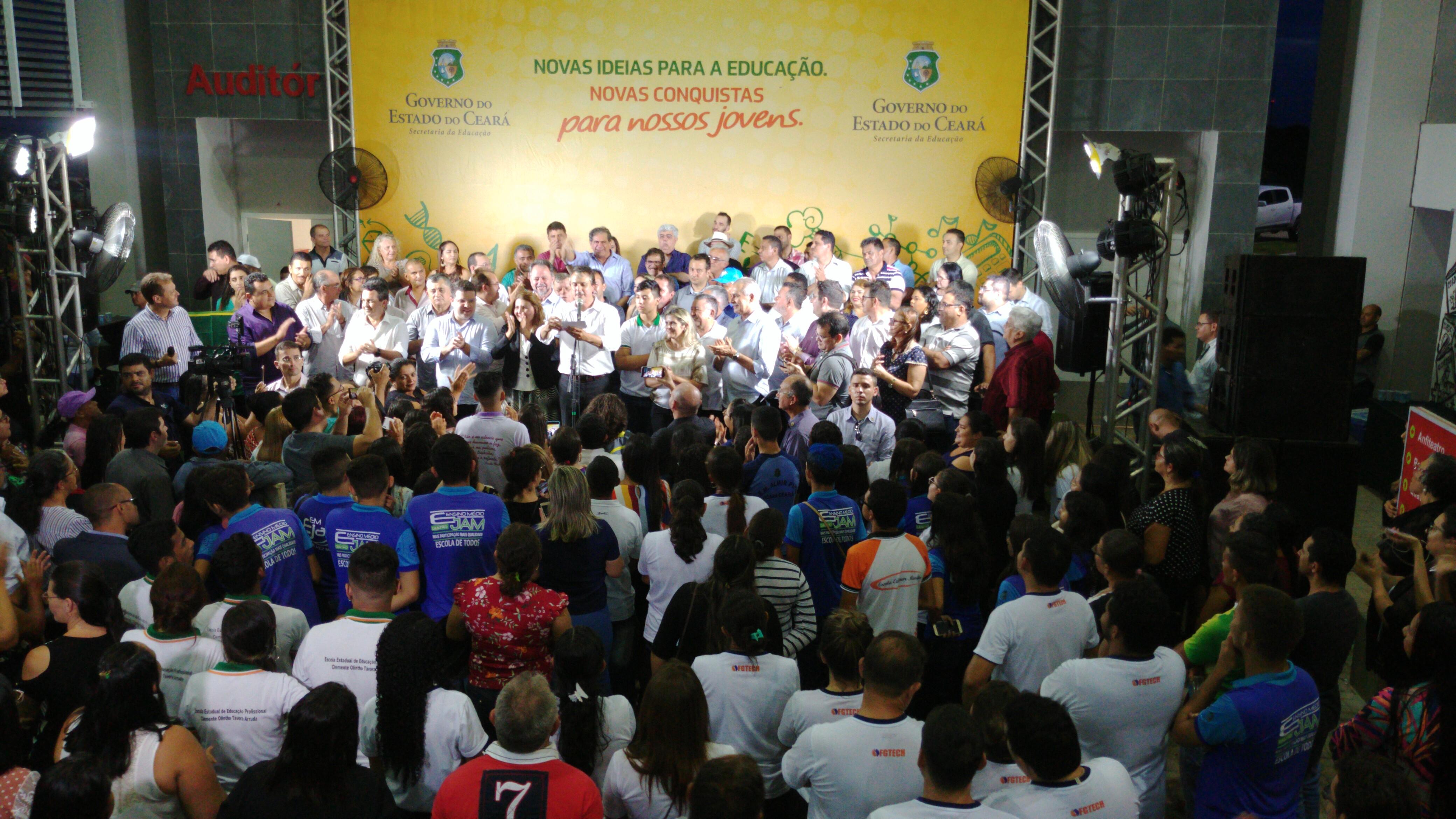 Ocara recebe a 121ª escola de educação profissional do Ceará