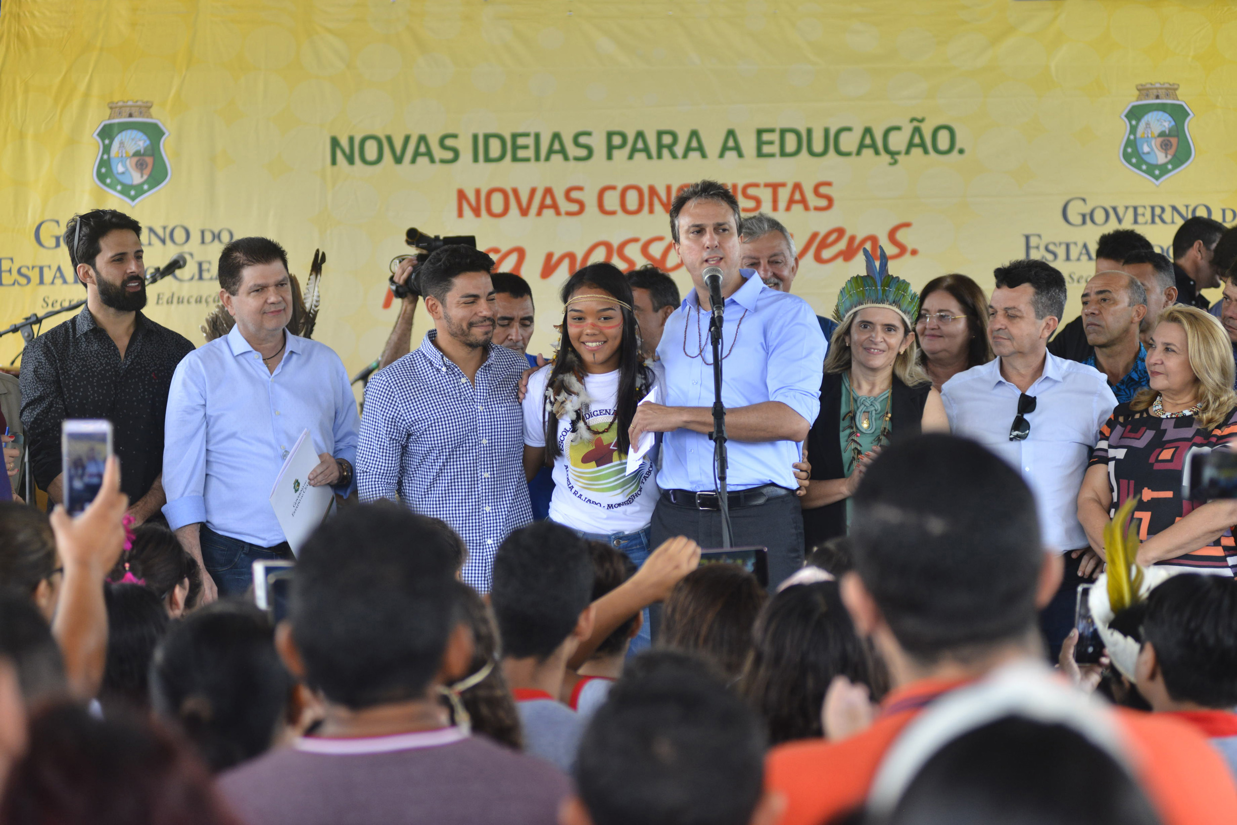 Comunidade indígena de Monsenhor Tabosa recebe escola nova para atender crianças, jovens e adultos