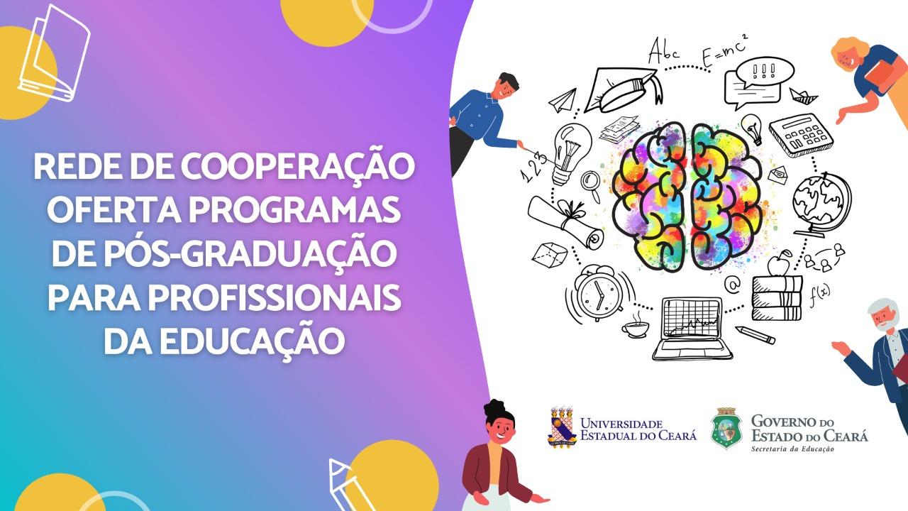 Rede de Cooperação ofertará programas de pós-graduação para profissionais da educação