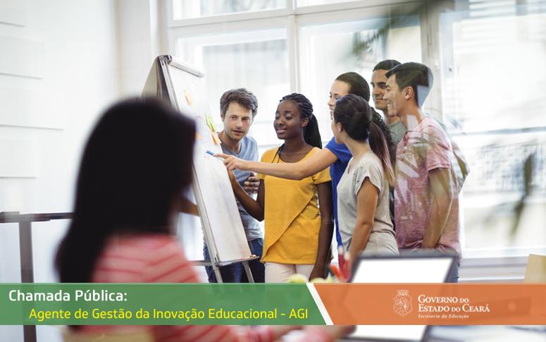 Seduc divulga chamada pública para seleção de Agentes de Inovação Educacional (AGI)