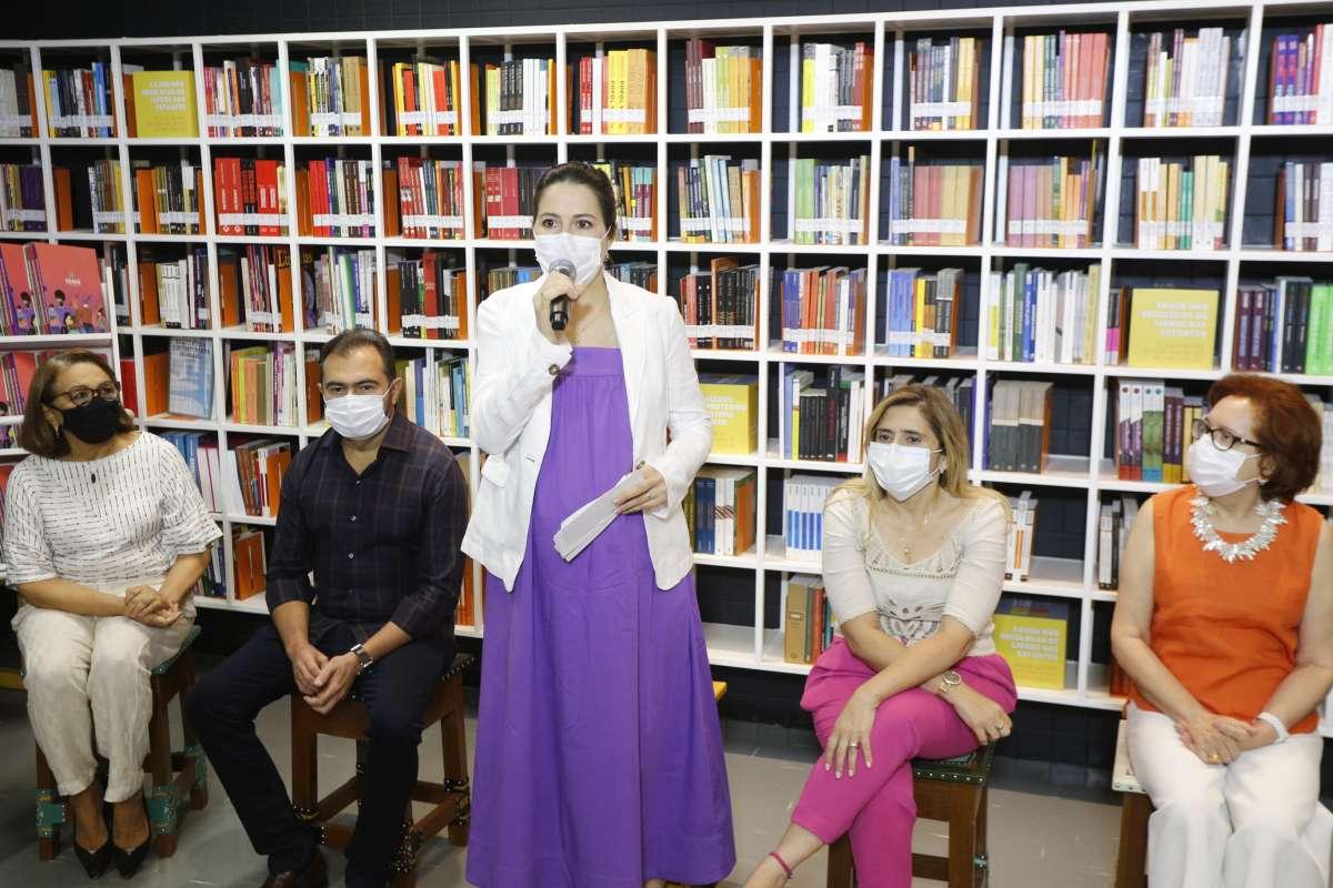 Coleção de livros Educação no Ceará em Tempos de Pandemia é lançada